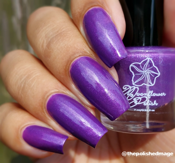 moonflower polish orquideas sunlight swatch phone