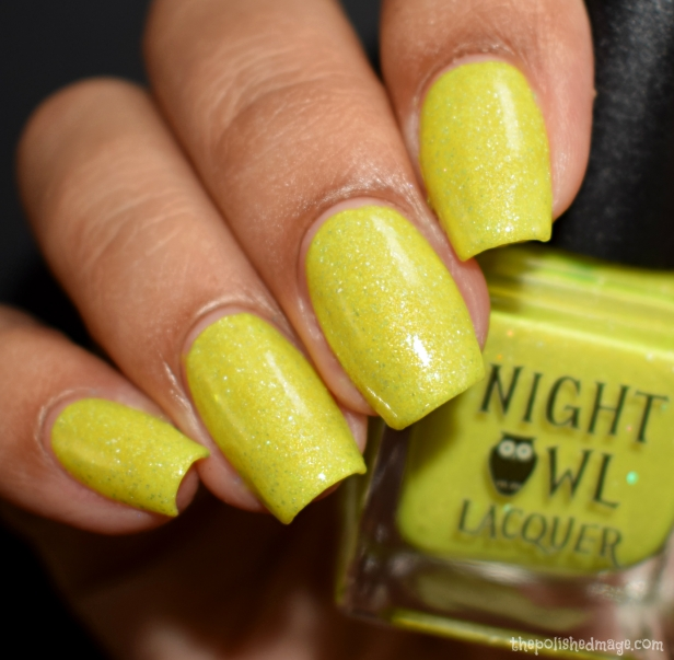 night owl lacquer crystallized pineapple 2