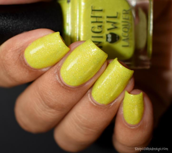 night owl lacquer crystallized pineapple 3