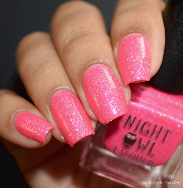 night owl lacquer pink coconut ice 2