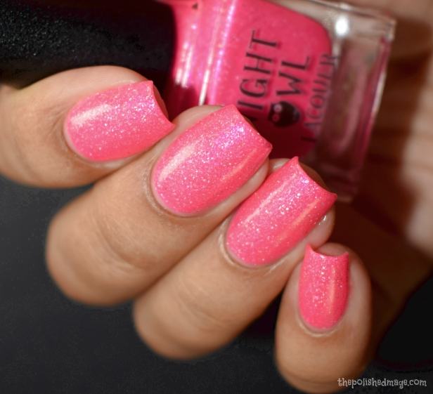 night owl lacquer pink coconut ice 3