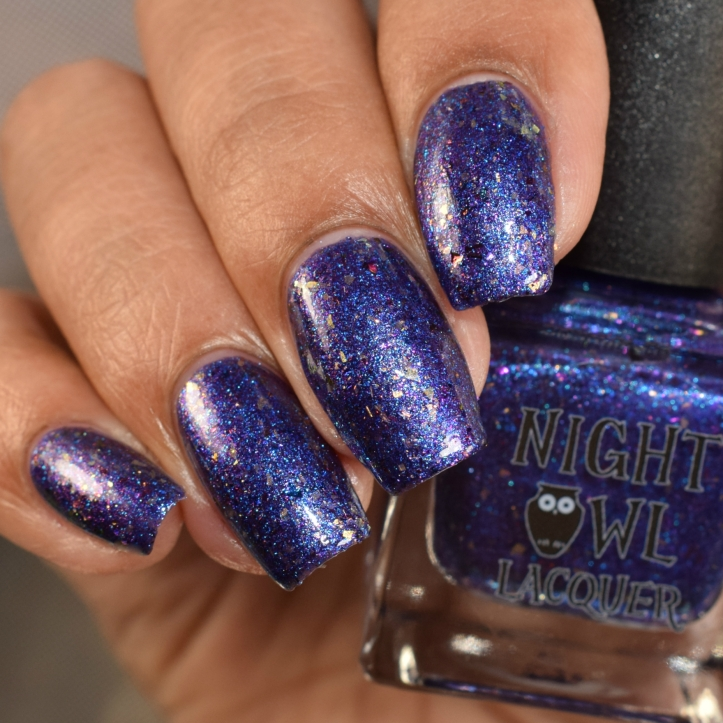 night owl lacquer pop goes the blurple 3
