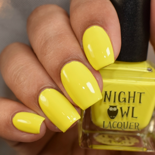 night owl lacquer squeeze the day 2