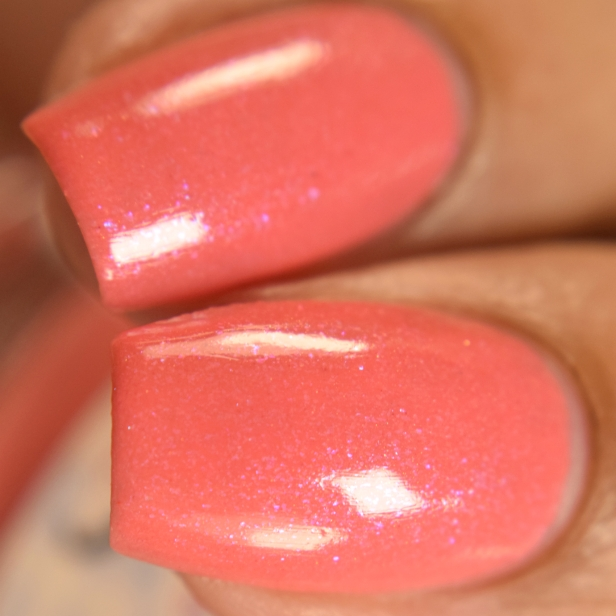 sassy cats lacquer coralicious peeps 2
