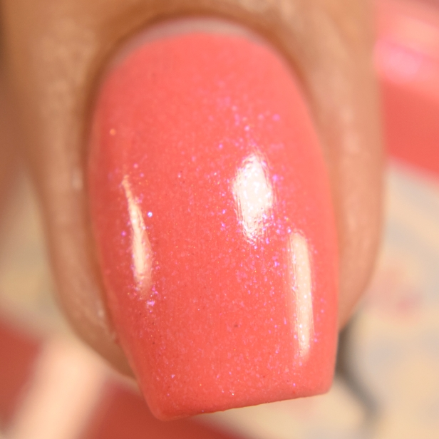 sassy cats lacquer coralicious peeps
