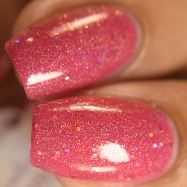 wildflower lacquer pink hare dont care 2