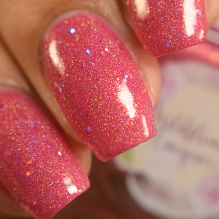 wildflower lacquer pink hare dont care 3