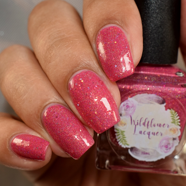 wildflower lacquer pink hare dont care 4