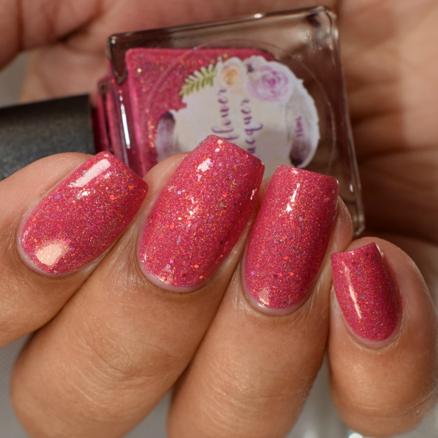 wildflower lacquer pink hare dont care 5