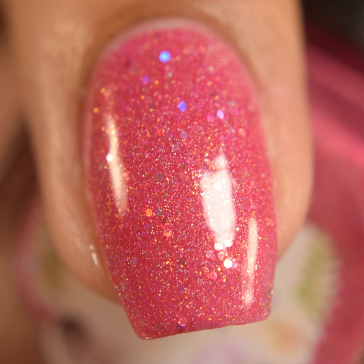 wildflower lacquer pink hare dont care