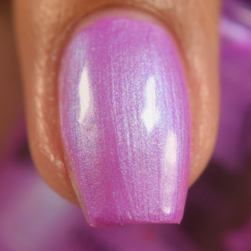 leesha lacquer blooming bluebells