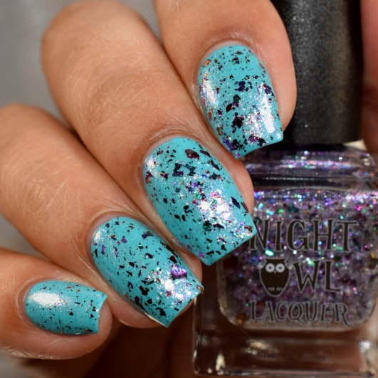 night owl lacquer just bloom 3