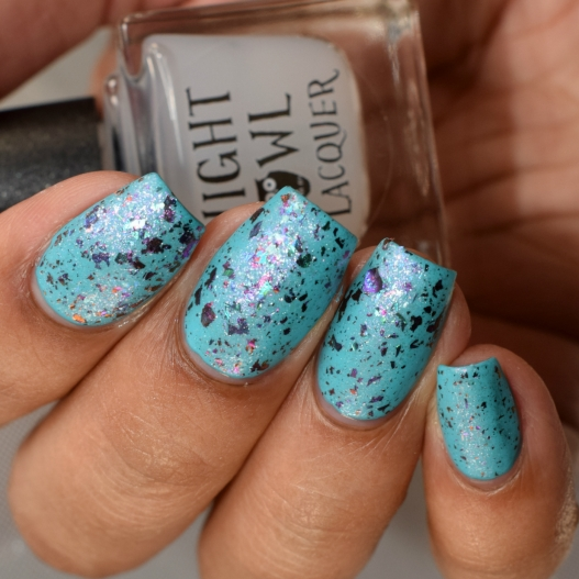 night owl lacquer just bloom matted 3