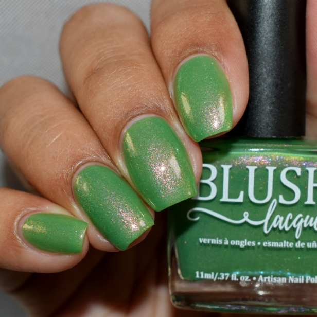 blush lacquers green with envy 3