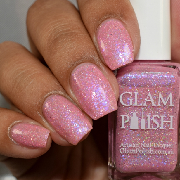 glam polish enchanted rose 3