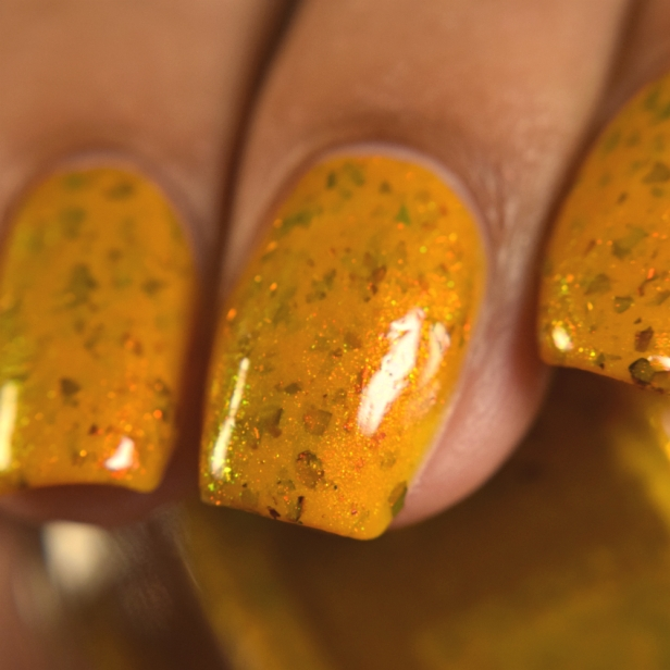 bees knees lacquer yellow or dijon 2