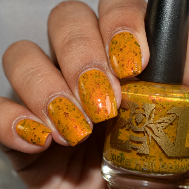 bees knees lacquer yellow or dijon 3