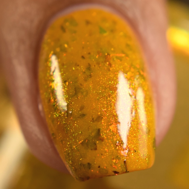 bees knees lacquer yellow or dijon