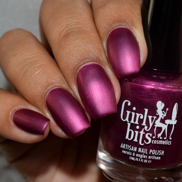 girly bits beet it matte