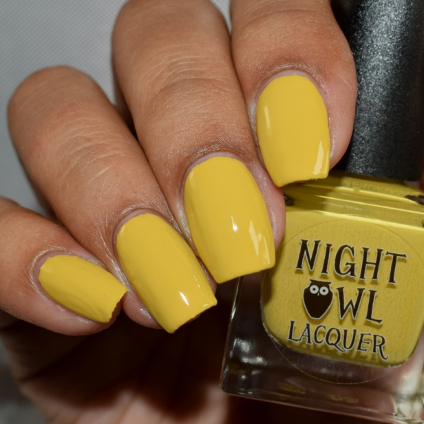 night owl lacquer it mustard been love 2