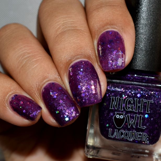 night owl lacquer purple people eater 3