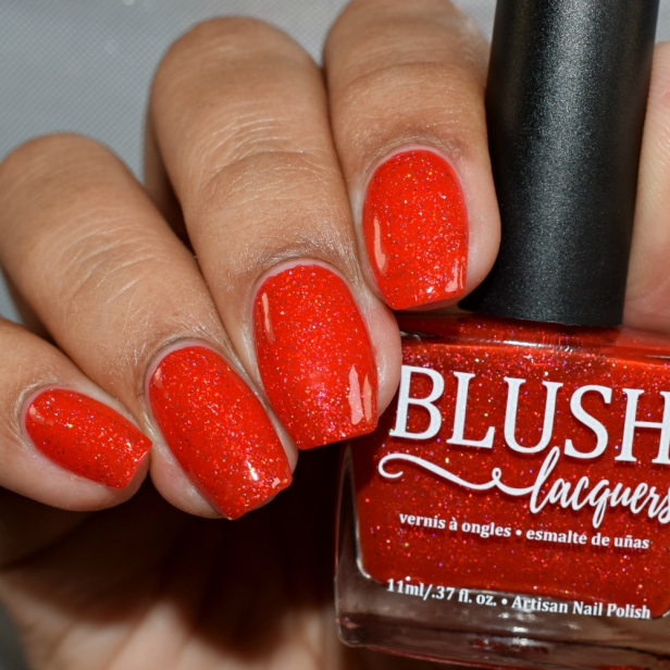blush lacquers jingle bell rock 3