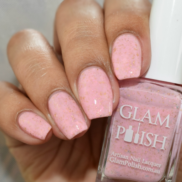 glam polish i like the pink its like candy 3