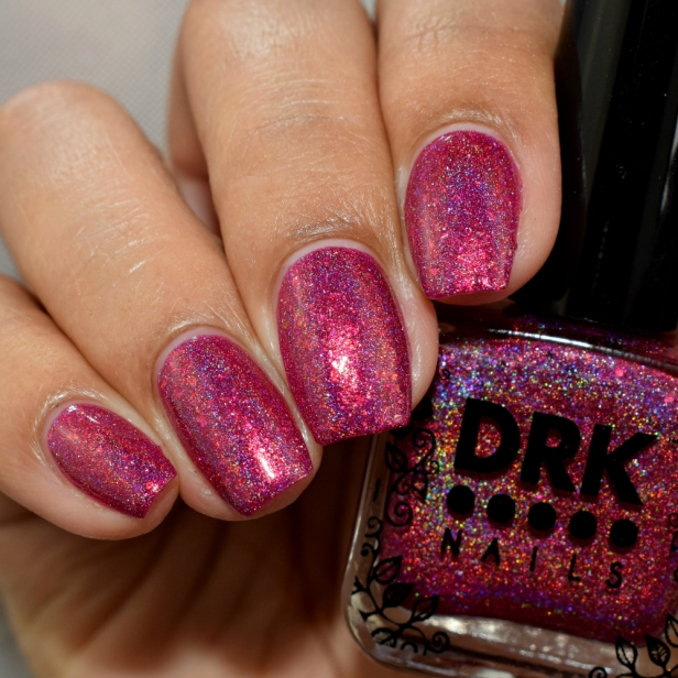drk nails all the pink please 3