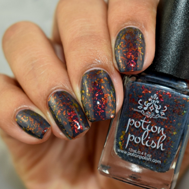 potion polish black sand beach 3