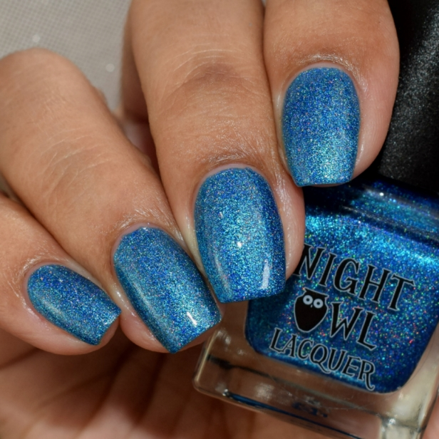 night owl blue metallic holo 3