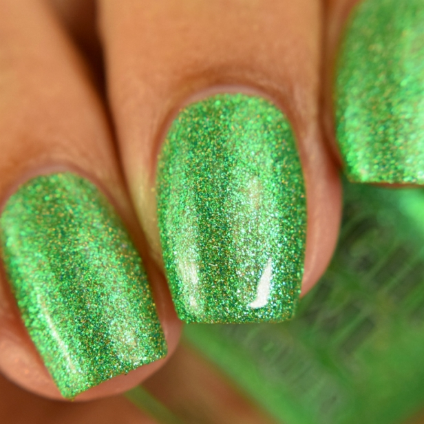 night owl green metallic holo 2