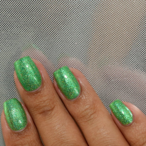 night owl green metallic holo 5