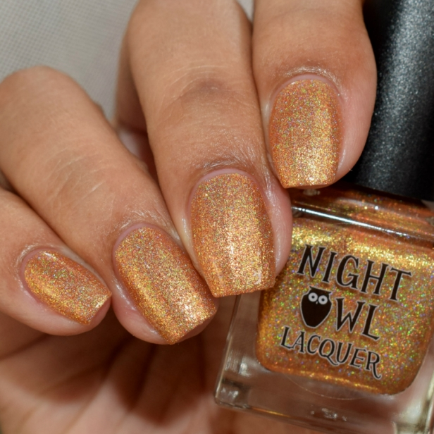 night owl orange metallic holo 3