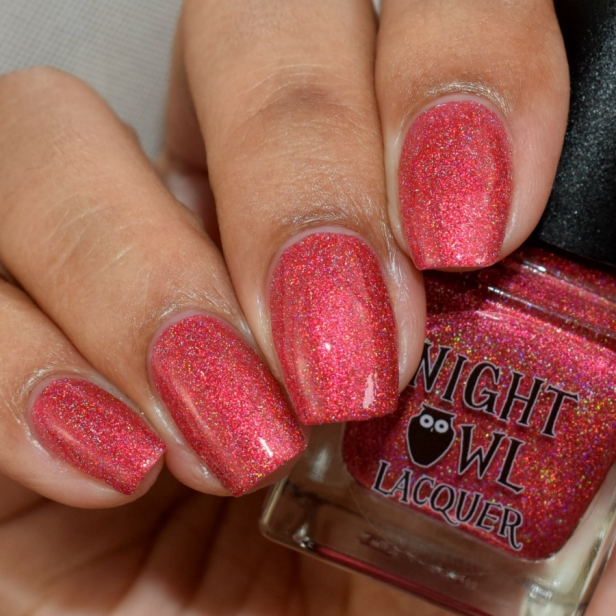 night owl red metallic holo 3