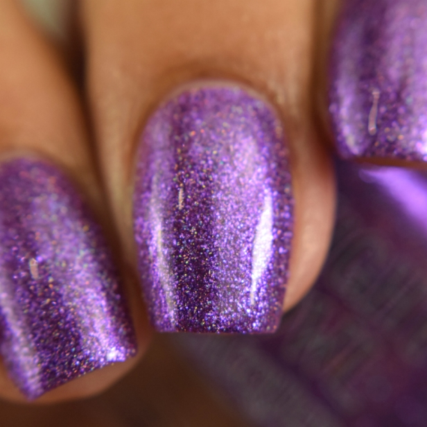 night owl violet metallic holo