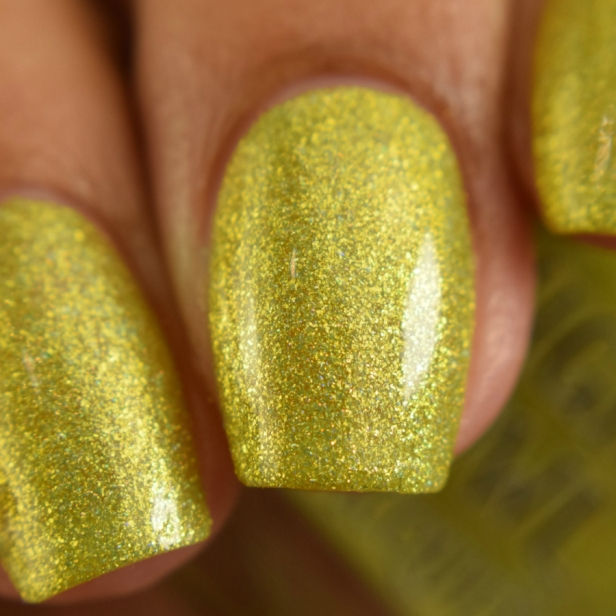 night owl yellow metallic holo 2
