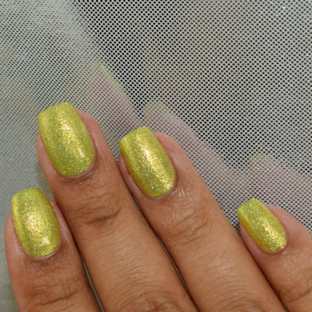 night owl yellow metallic holo 5